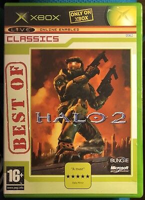 HALO 2 - Best of Classics (Xbox) - Live Online Enabled PAL for sale  Shipping to India