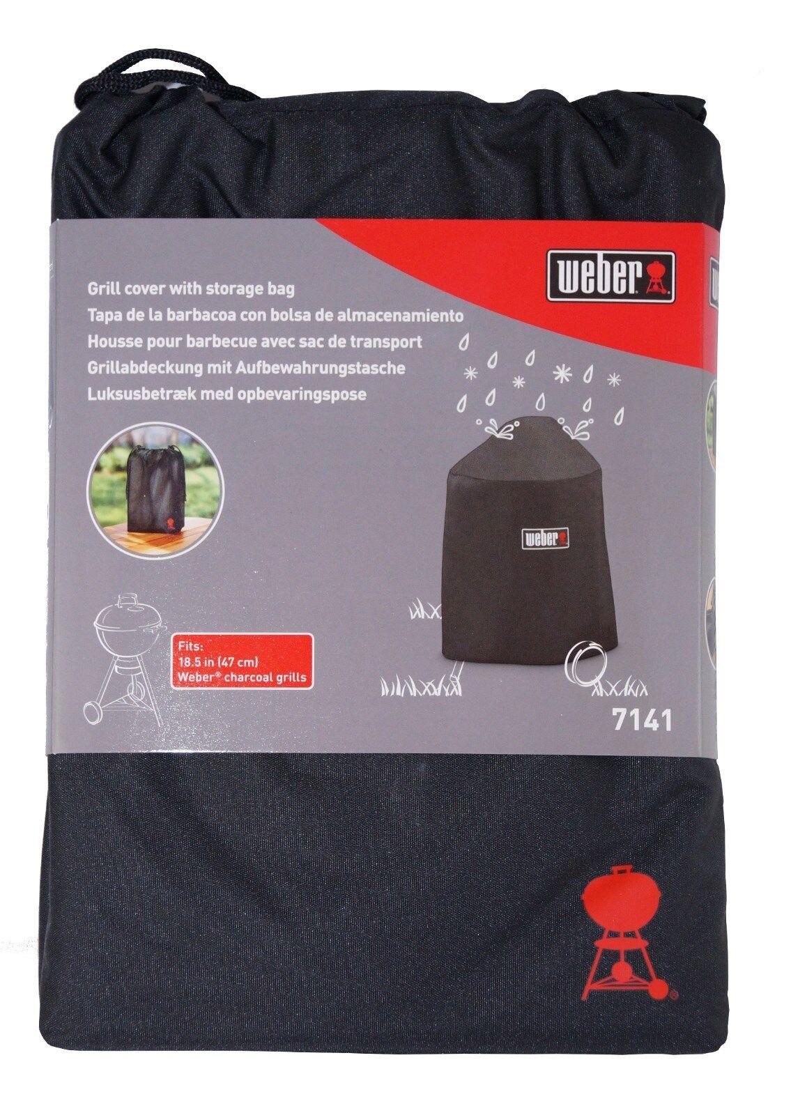 Weber Abdeckhaube Premium 7141 für Master-Touch 47cm Grill Schutzhülle Abdeckung