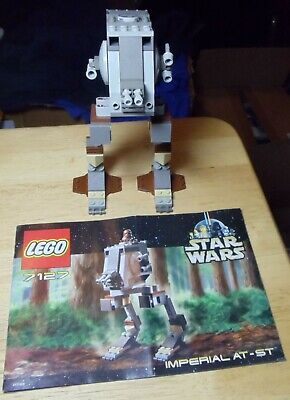 Lego Star Wars Episode IV-VI Imperial AT-ST 7127 Complete with Manual no figure
