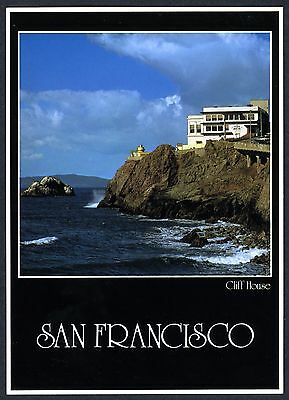 CLIFF HOUSE,GIANT CAMERA,OCEAN & ROCKY CLIFFS~NEW 1982 LARGE 5x7 JUMBO POSTCARD