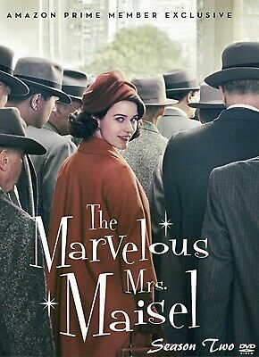 The Marvelous Mrs. Maisel Complete Season 2 - 10 Episodes (DVD, 2019, 3-Disc)