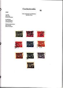 Czechoslovakia Tchécoslovaquie timbres anciens sur feuille lot 533 - France - Lot vieux timbres sur charnire sur feuilles en provenance de divers vieux albums oblitérés ou pas Voir scan pour détails Livraison feuille non pliée emballage cartonné enveloppe grand format. A4 .Voir scan recto verso Nenchérissez pas si vo - France