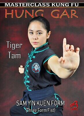 SAM YIN KUEN (Three Form Fist) Vol-1 Hung Gar Kung Fu by Tiger Tam
