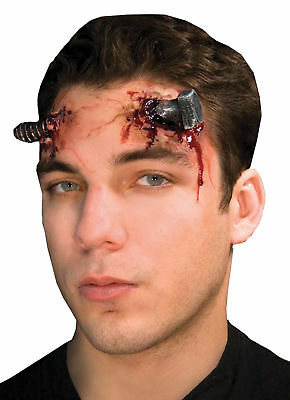 Halloween Make Up Spin (Ez Fx Terminal Twist Makeup Accessory Kit Huge Bolt Gory Bloody Wound)