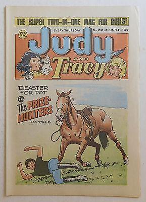 JUDY & TRACY Comic #1357 - 11th January 1986