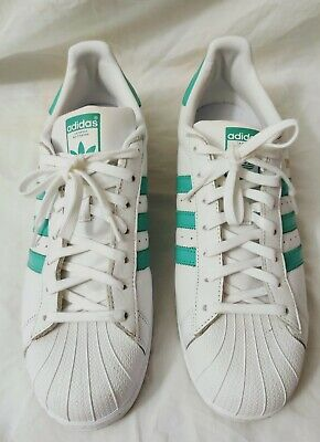 Adidas Superstar -Teal - US13 - pre-owned