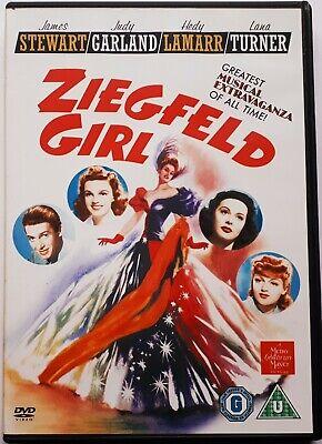 Ziegfeld Girl (1941) - Judy Garland,James Stewart,Lana Turner - Region 2 DVD