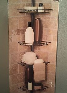 New 4 tier shower caddy