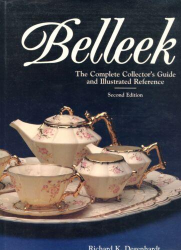 Belleek China Porcelain -  Patterns Design Numbers Shapes Marks../ Book + Values
