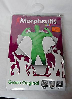 Halloween Morphsuits Green Adult XL Movies Green Screen Parties See DrinkThru 1Q