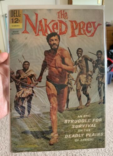 The Naked Prey. 1966.  Dell Comic.