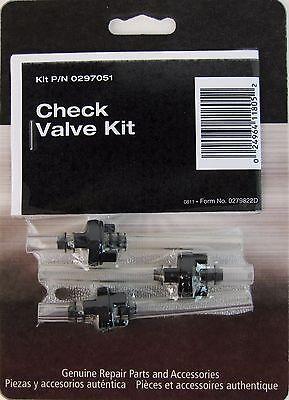 Titan Capspray Wagner Spraytech 0297051 Or 297051 Hvlp Check Valve Kit Oem