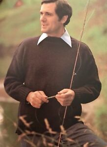 22MF - Knitting Pattern for Men's 5-ply Traditional Guernsey Jumper Sweater
