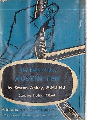 AUSTIN TEN 10 (INCL CAMBRIDGE CONWAY CLIFTON) 1932-1947 OWNERS REPAIR HANDBOOK