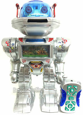Remote Control I-ROBOT RC TALKING SHOOTING WALKING DANCING TOY DANCES GIFT UK