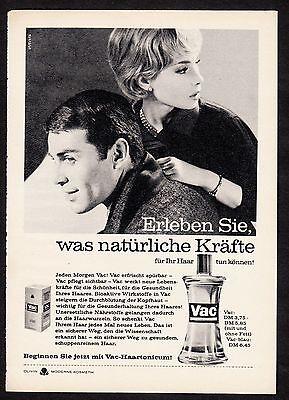 3w820/ Alte Reklame - von 1961 - VAC Haartonicum - OLIVIN Kosmetik