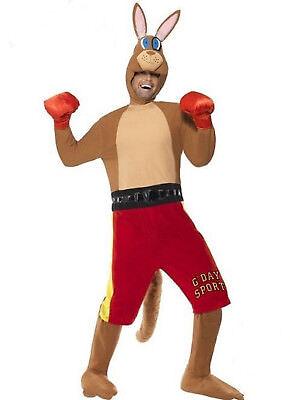 Erwachsene Boxen Känguru Komisch Kostüm Verkleidung Outfit Junggesellenabschied
