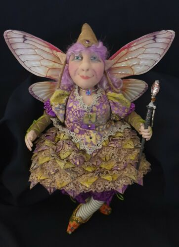 """Cloth Art Doll Sewing Pattern """"Fayette"""" By Suzette Rugolo"""