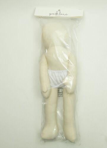 "18"" Bendable Muslin Doll Park Lane Craft NIP Crafting"