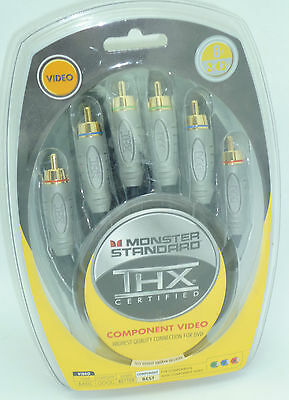 Monster Standard Thx V100cv 8' Component Video Cable