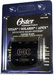 Original-OSTER-ESS-Blade-Size-000-For-Classic-76-Titan-Solaris-Apex-76918-626