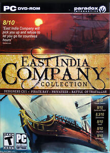 EAST INDIA COMPANY COLLECTION  -  PC GAME *** Brand New & Sealed ***
