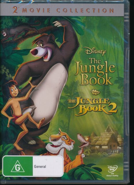 The Jungle Book The Jungle Book 2 2-movies DVD NEW Region 4 PAL
