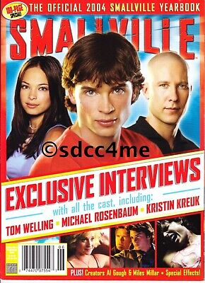 Smallville Official Magazine 2004 Yearbook 100 Pages 1st Issue Superman