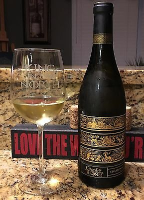 Game of Thrones Chardonnay!  WINTER IS HERE!! **2 BOTTLES**
