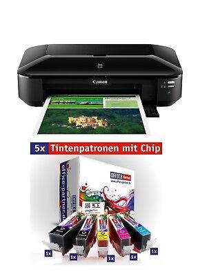 Canon PIXMA iX6850 Tintenstrahldrucker (A3+, LAN,WLAN, Mobil-Druck,