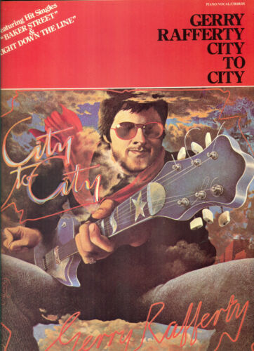 Gerry Rafferty songbook City to City Piano Guitar No Tab sheet music song book
