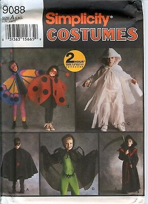 Simplicity 9088 CHILD 2 Hour Express Ladybug Ghost Costume Pattern UNCUT FF](Costume Express Kids)