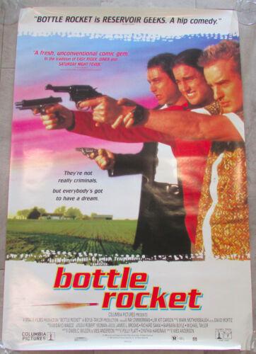 """Vintage Bottle Rocket Movie Poster Owen Wilson 1996 26.75""""x 39.5"""""""