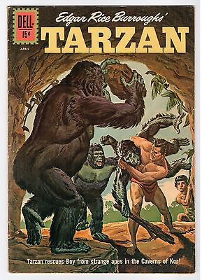 Dell Edgar Rice Burroughs TARZAN #129 - 1962 Vintage Comic