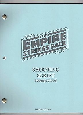 "STAR WARS ""The Empire Strikes Back"" Movie Script"