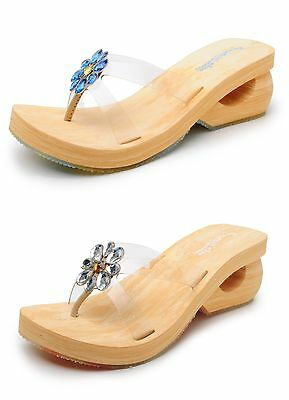 Skechers Womens Sandals SPINNERS-CHARM 35409 Clear Blue