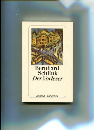 Der Vorleser von Bernhard Schlink (1997, Diogenes Taschenbuch)