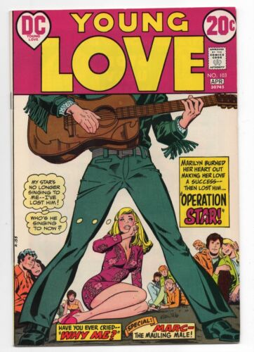 DC COMICS  YOUNG LOVE  103  1973  ROMANCE  HIGH GRADE