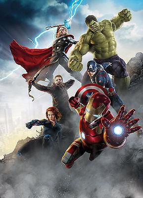 Fototapete AVENGERS, AGE OF ULTRON 184x254 Marvel Comic-Helden Hulk Thor Ironman