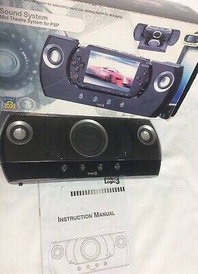 Used, Logic 3 Mini Theatre Sound System for PSP Consoles,Working, Bid Now  for sale  Shipping to Nigeria