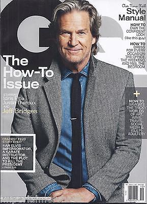 Gq Magazine Jeff Bridges How To Issue Justin Theroux Idris Elba Ted Cruz
