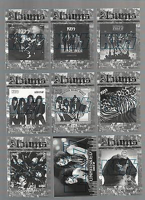 2009 PRESS PASS KISS 360 COMPLETE 90 CARD SET MINT ALBUMS BLACK WHITE RARE - $4.95