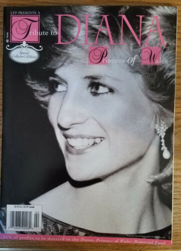 Tribute to Diana Princess of Wales Magazine