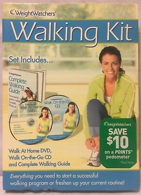 Weight Watchers Walking Kit (DVD-CD-Guide) walk at home exercise fitness workout