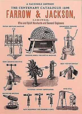 BOOK:  FARROW & JACKSON (Wine & Spirit Merchants and General Engineers)
