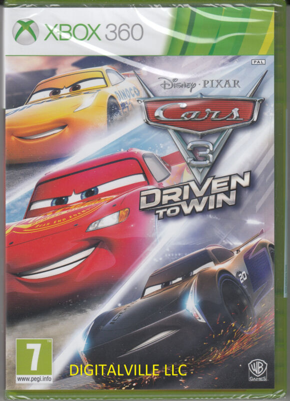 Cars 3 Driven To Win Xbox 360 Brand New Factory Sealed