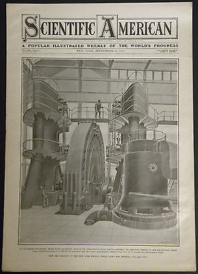 1910 Scientific American September 24  Mexico Citys New Water Works System