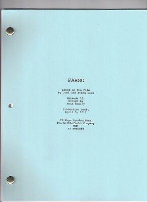 """FARGO show script """"Pilot"""" Production Draft 4/3/13"""