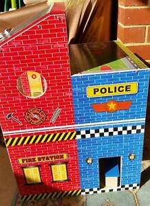 Police / Fire Station doll house