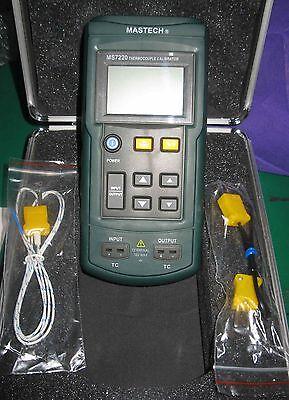 Thermocouple Calibrator Simulate J K T E N R S B Source -10mv To 75mv Ms7220